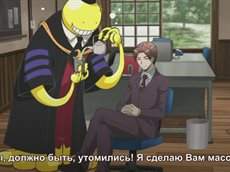 Класс Убийц / Ansatsu Kyoushitsu (22/22) [RUS/SUB]