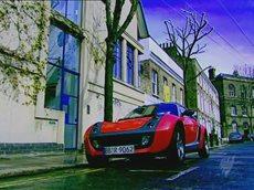 Топ Гир Smart Roadster.