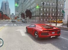 Grand Theft Auto IV Gameplay PC - Lamborghini Aventador (1)