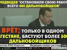Лжец Медведев о дальнобойщиках и политических проходимцах (2017)