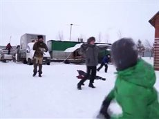 Сибирский казак в Нижневартовске.